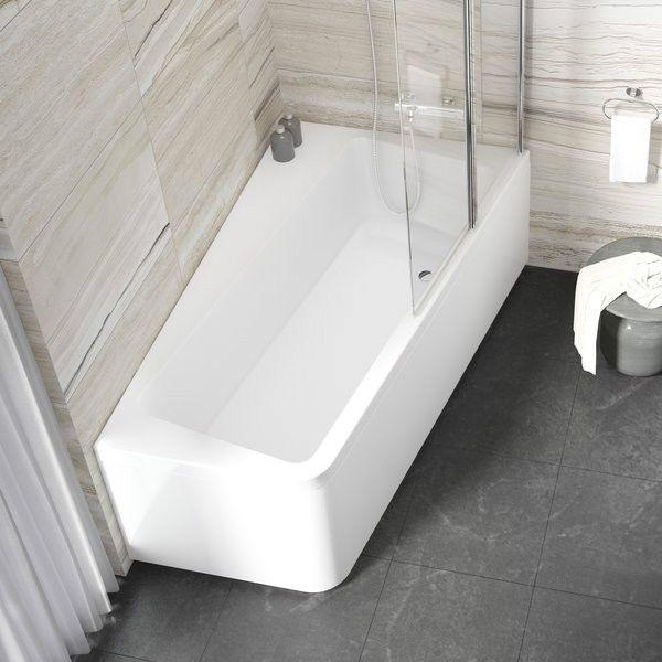 Акриловая ванна Ravak 10° 170x100 (сифон автомат)