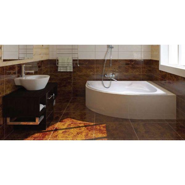 Акриловая ванна ARTEL PLAST Флория 170x105 (сифон)