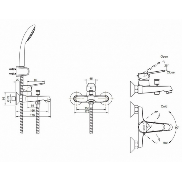 Промонабор Bravat 3 в 1 ECO-K F00313C