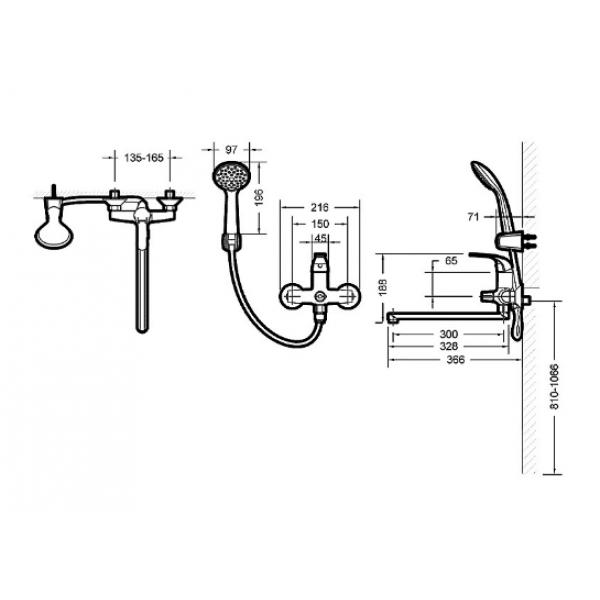 Промонабор Bravat 2 в 1 FIT F00416C