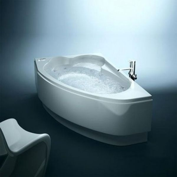 Акриловая ванна Cersanit Kaliope 153x100 (сифон автомат)