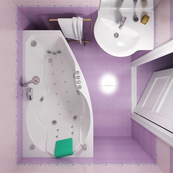 Акриловая ванна Triton ЛАЙМА 160x95 (сифон автомат)