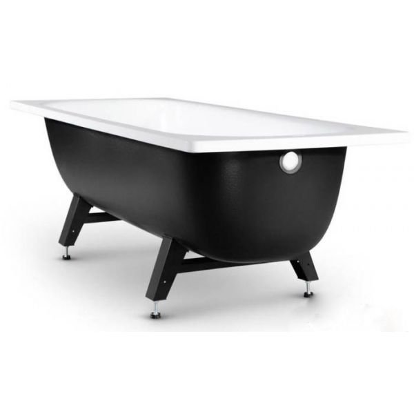 Стальная ванна VIZ Reimar 170x70 (сифон автомат)