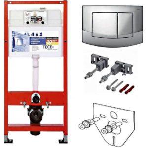 Система инсталляции для унитаза TECE base kit (4 в 1) 9.400.005