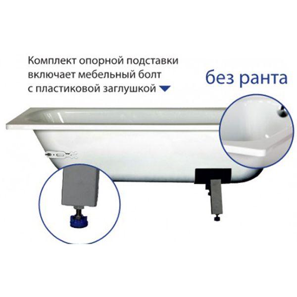 Стальная ванна VIZ Donna Vanna 105x70 (сифон)
