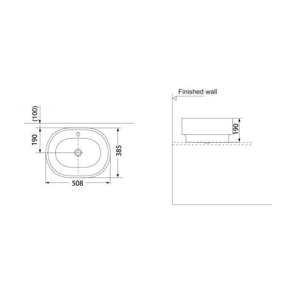 Умывальник Porta A025