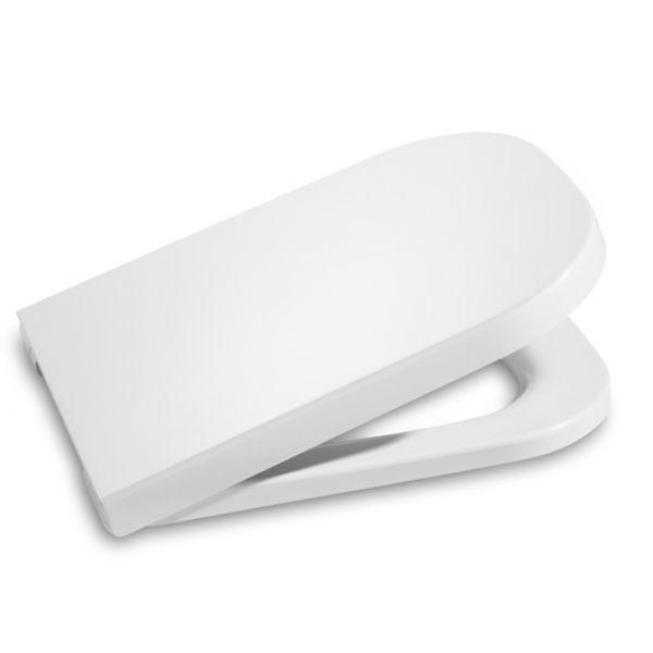 Комплект инсталляции Geberit Duofix Plattenbau (458.122.21.1) + унитаз Roca The Gap Clean Rim + сиденье The Gap