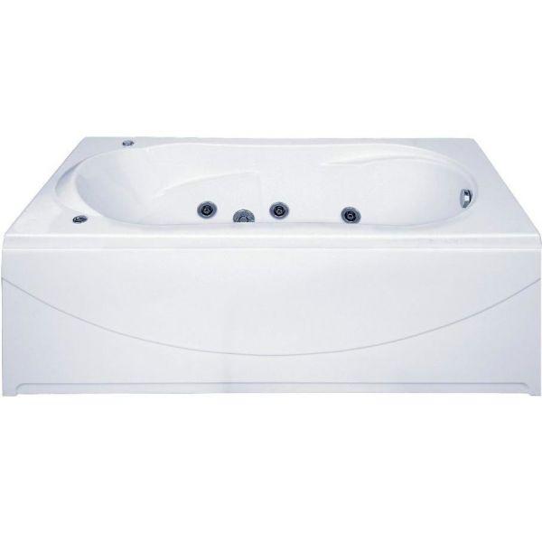 Гидромассажная ванна BAS Ахин 170x80 (сифон автомат)