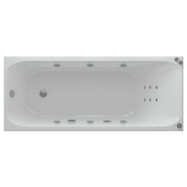 Акриловая ванна Aquatek Альфа 170х70 (сифон)