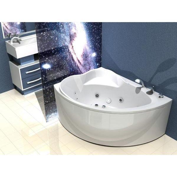 Акриловая ванна Aquatek Альтаир 160х120 (сифон)