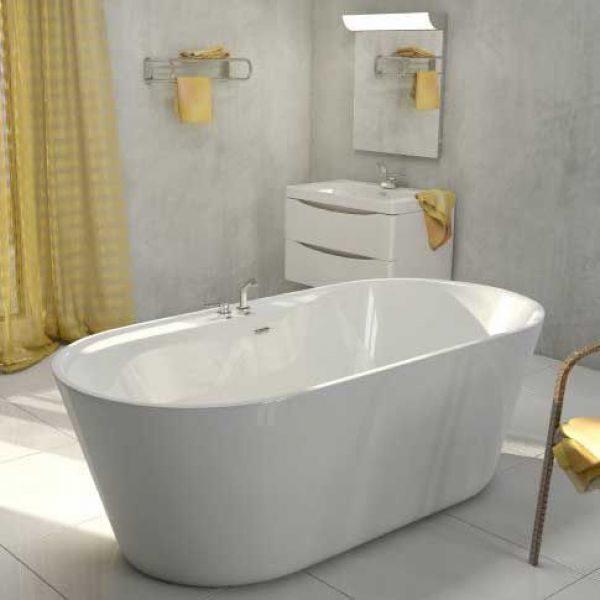 Отдельностоящая ванна BelBagno BB14 (сифон автомат)