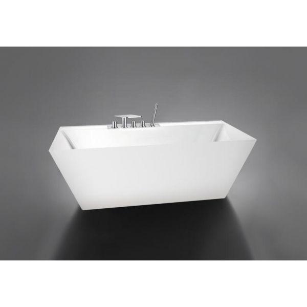 Отдельностоящая ванна BelBagno BB19 (сифон автомат)