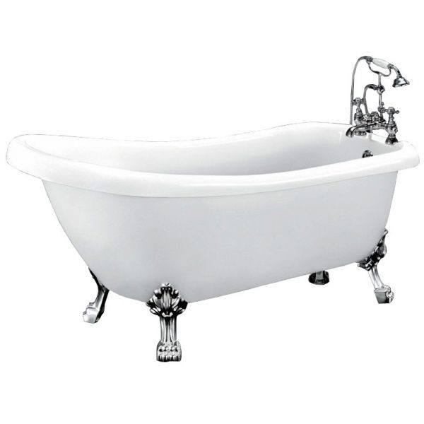 Отдельностоящая ванна BelBagno BB20 (сифон автомат)