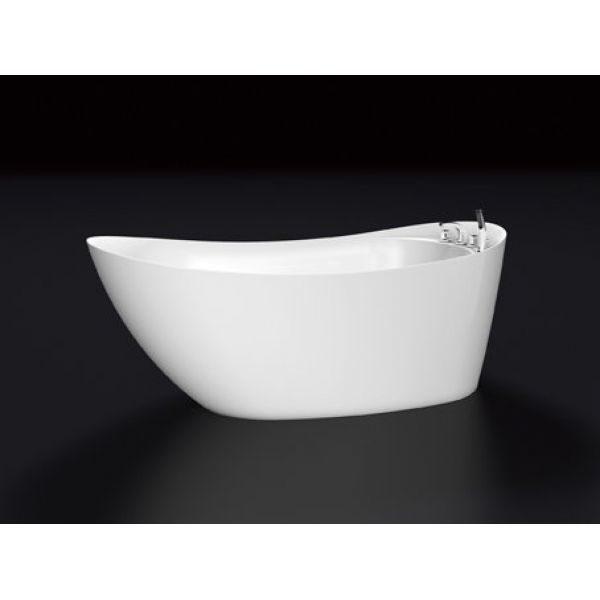 Отдельностоящая ванна BelBagno BB25 (сифон автомат)