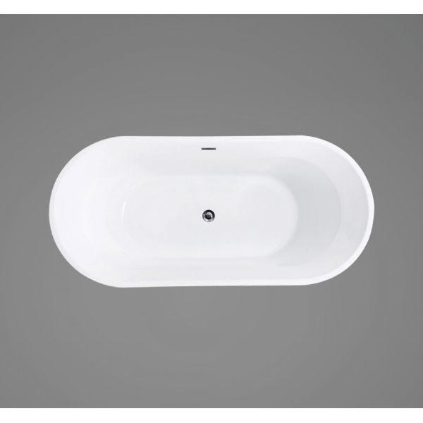 Отдельностоящая ванна BelBagno BB40-1500 (сифон автомат)