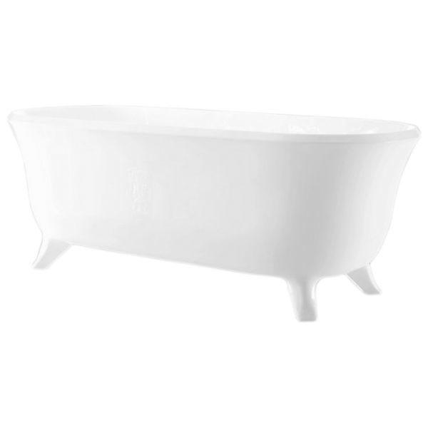 Отдельностоящая ванна BelBagno BB41-1700 (сифон автомат)