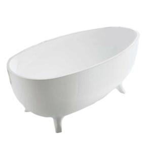 Отдельностоящая ванна BelBagno BB42-1700 PERL (сифон автомат)