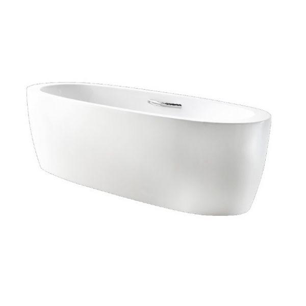 Отдельностоящая ванна BelBagno BB43-1800 (сифон автомат)