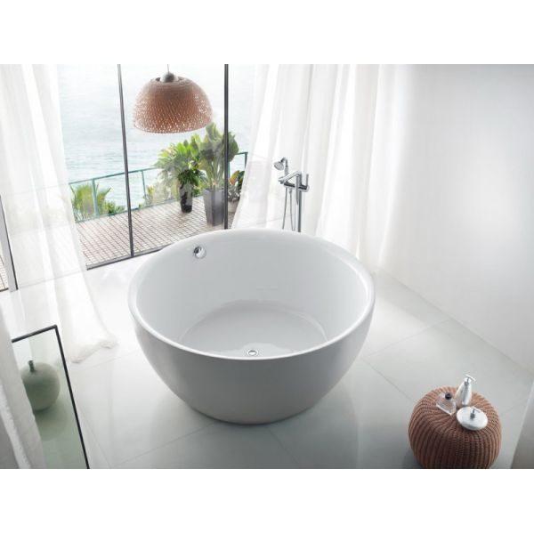 Отдельностоящая ванна BelBagno BB46-1500-PERL (сифон автомат)