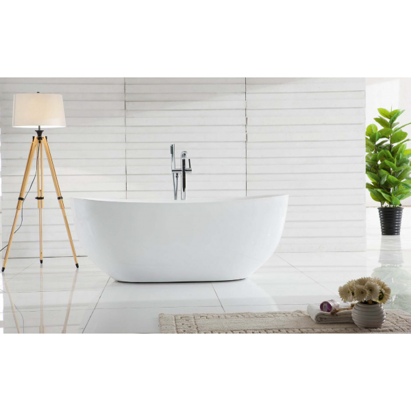 Отдельностоящая ванна BelBagno BB48-1700 (сифон автомат)