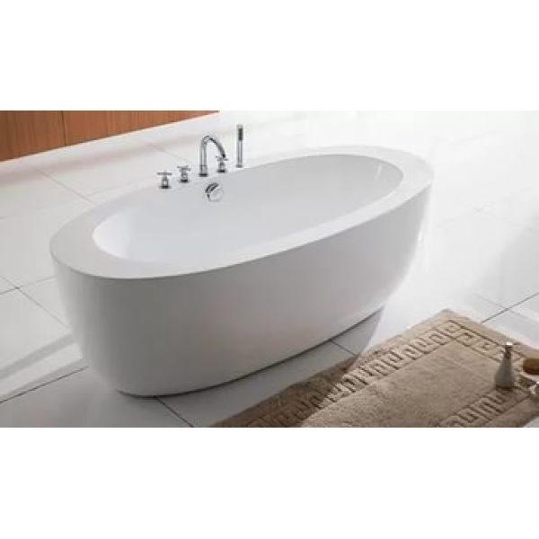 Отдельностоящая ванна BelBagno BB49-1750 (сифон автомат)