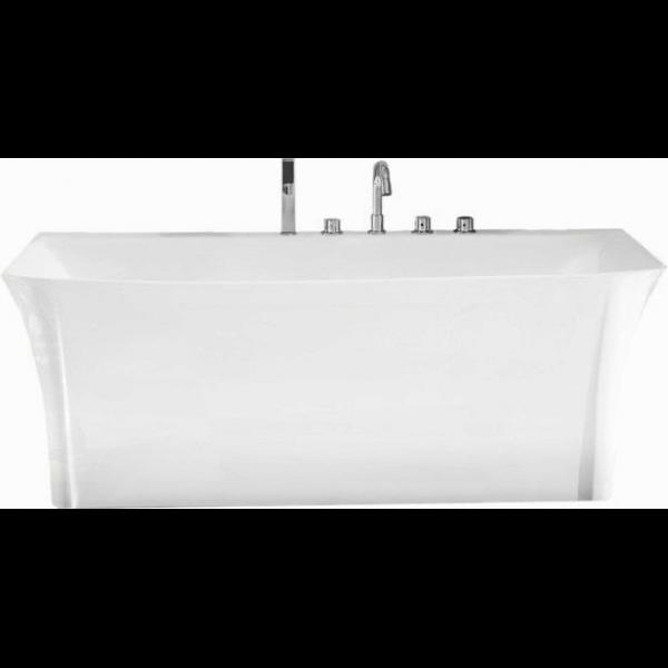 Отдельностоящая ванна BelBagno BB51-1600 (сифон автомат)