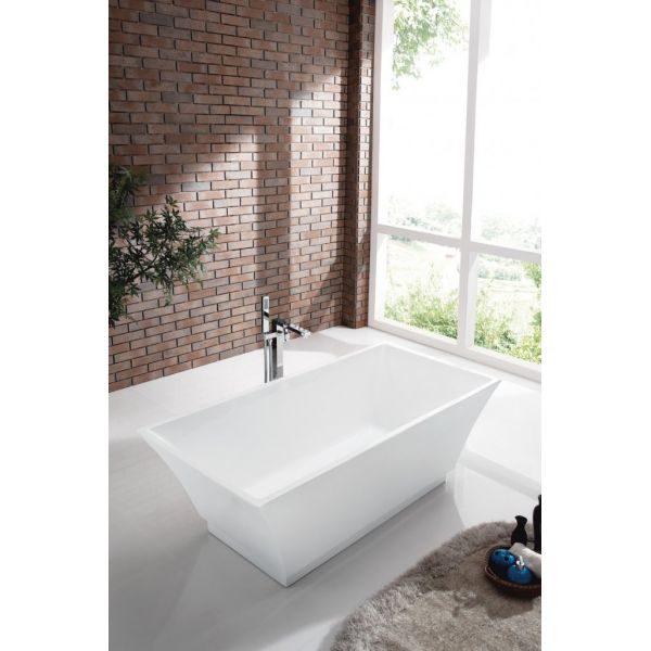 Отдельностоящая ванна BelBagno BB54-1700 (сифон автомат)