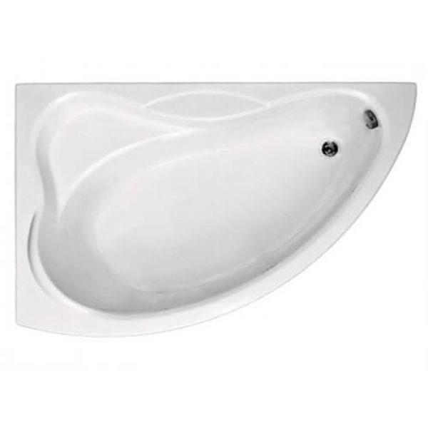 Акриловая ванна BAS Вектра 150x90 (сифон автомат)