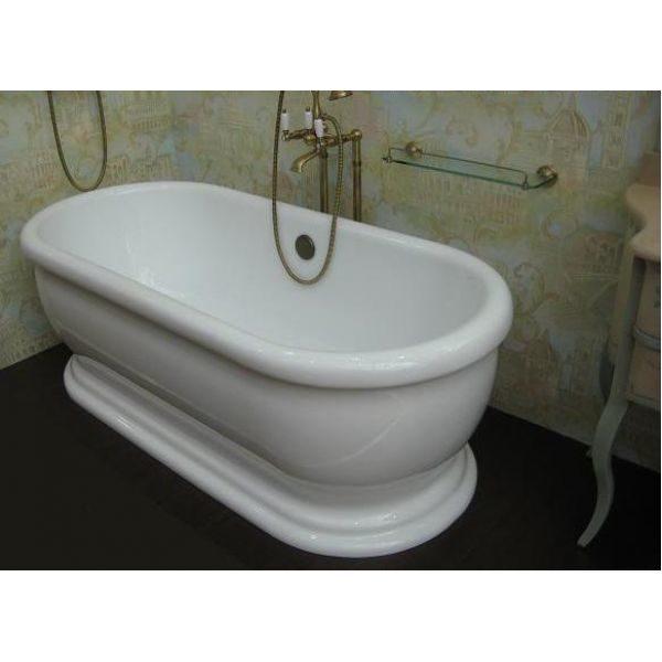 Отдельностоящая ванна BelBagno BB03 176x79 (сифон автомат)