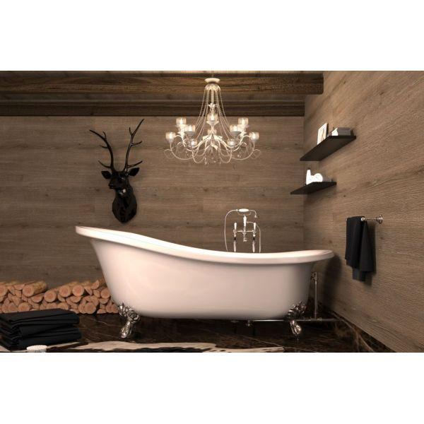 Отдельностоящая ванна BelBagno BB04 170x80 (сифон автомат)
