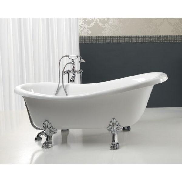 Отдельностоящая ванна BelBagno BB06-1550 (сифон автомат)
