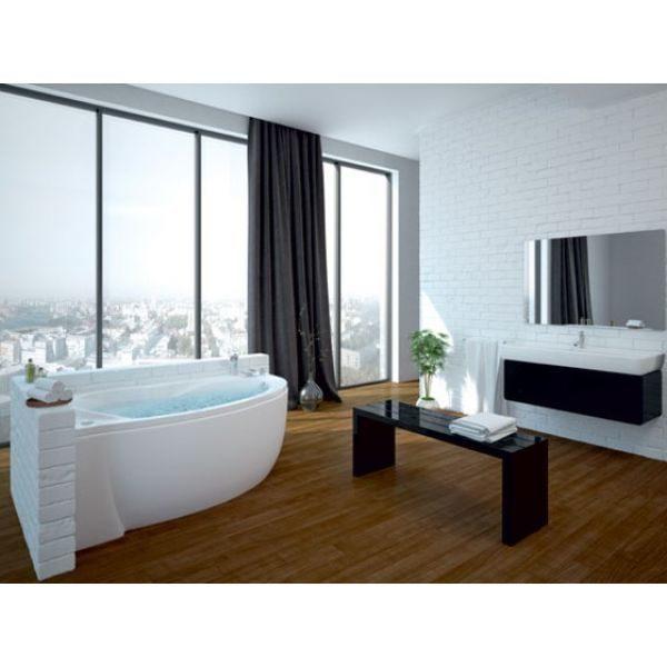 Акриловая ванна Aquatek Бетта 160х95 (сифон)