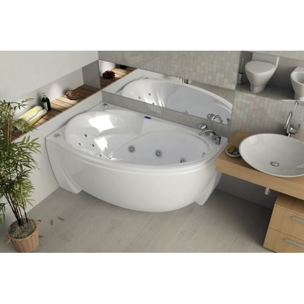 Акриловая ванна Aquatek Бетта 150х95 (сифон)