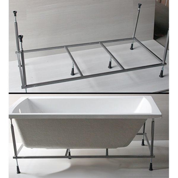 Акриловая ванна Excellent Pryzmat 200x90 (сифон автомат)