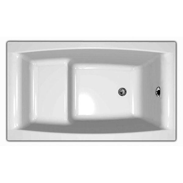 Акриловая ванна Cersanit VIRGO 180x80 (сифон)