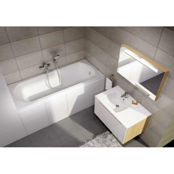 Акриловая ванна Ravak Domino 150x70 (сифон автомат)