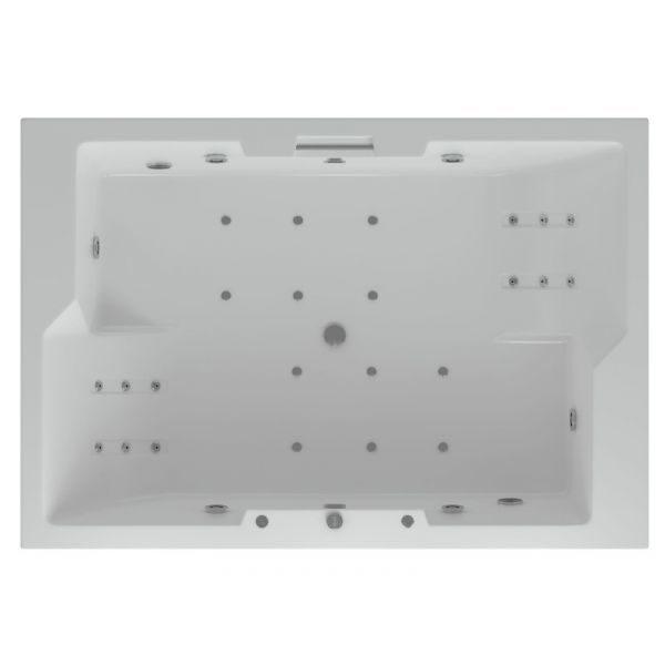 Гидромассажная ванна Aquatek Дорадо 190x130 (сифон)