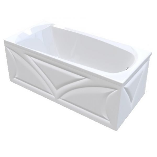 Акриловая ванна Marka One Elegance 120x70 (сифон)