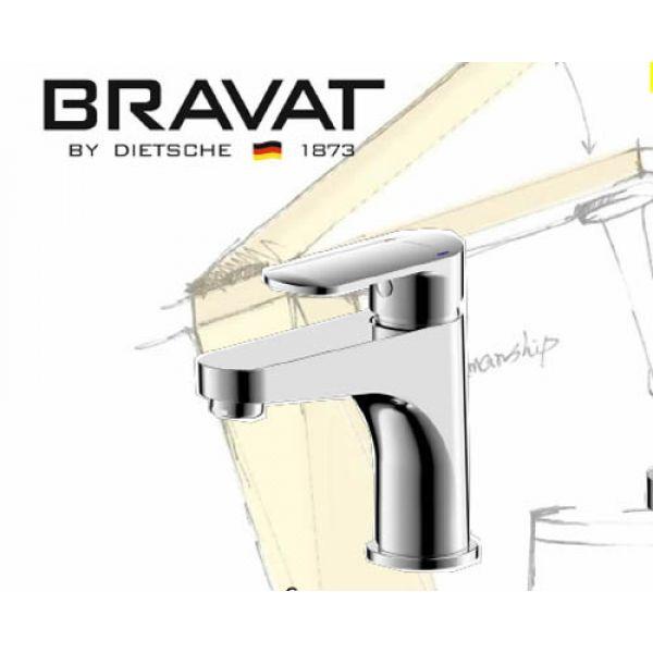 Смеситель для умывальника Bravat Louise F1191183CP-RUS