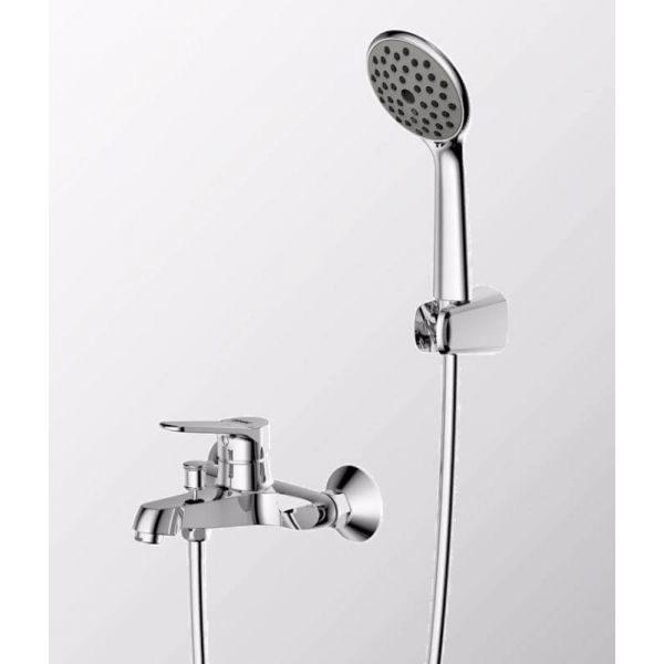 Смеситель для ванны с коротким изливом Bravat Eco-K F6111147C-B