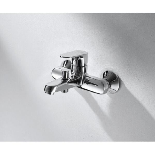 Смеситель для ванны с коротким изливом Bravat ALFA F6120178CP-01