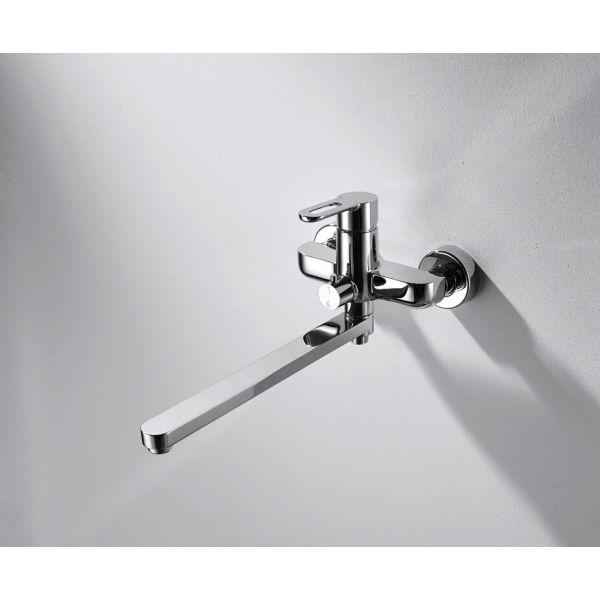 Смеситель для ванны с длинным изливом Bravat Stream-D F637163C-01A