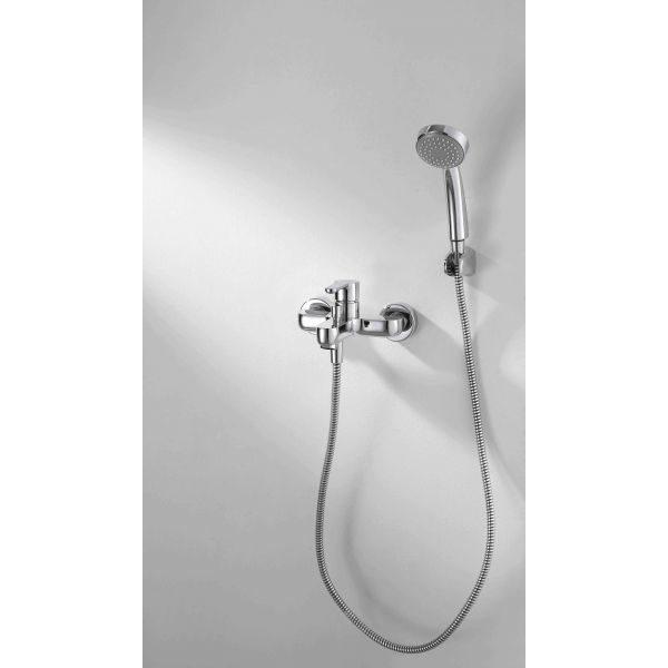 Смеситель для ванны с коротким изливом Bravat Stream F63783C-B