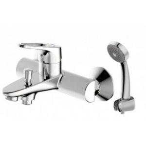 Смеситель для ванны с коротким изливом Bravat Drop-D F648162C-B-RUS