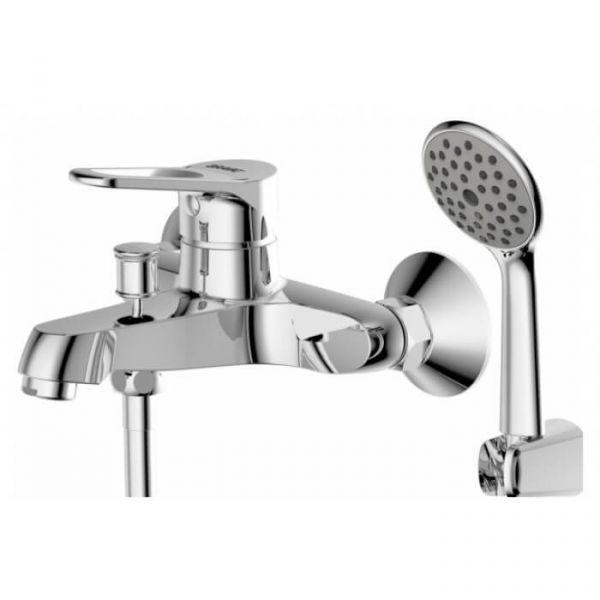Смеситель для ванны с коротким изливом Bravat Eco-D F693158C-B
