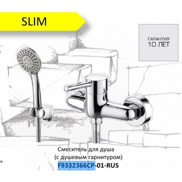 Смеситель для душа Bravat Slim F9332366CP-01-RUS