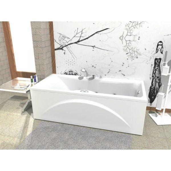 Акриловая ванна Aquatek Феникс 190x90 (сифон)