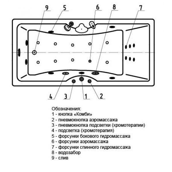 Акриловая ванна Aquatek Феникс 150x75 (сифон)