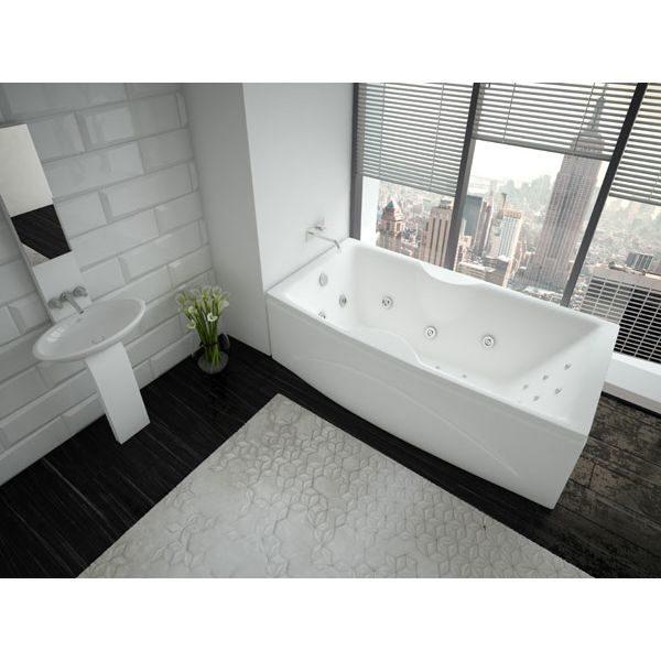 Акриловая ванна Aquatek Феникс 160x75 (сифон)