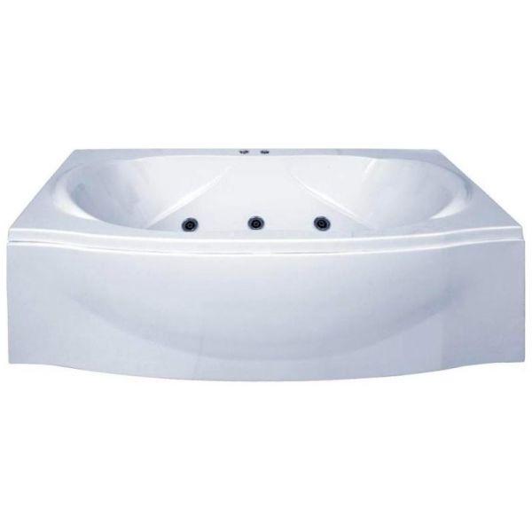 Гидромассажная ванна BAS Фиеста 194х90 (сифон автомат)